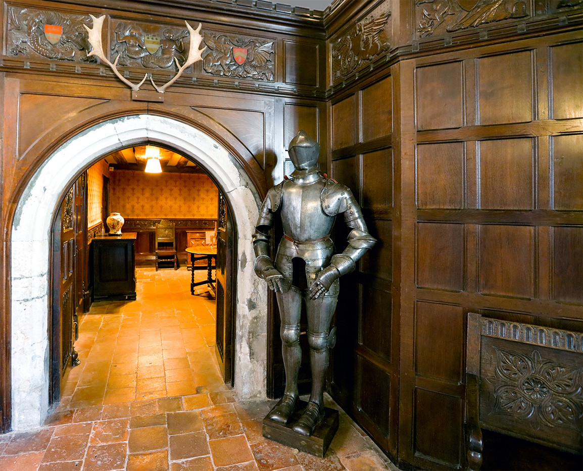 19 THE GREAT HALL IGHTHAM MOTE by Philip Easom