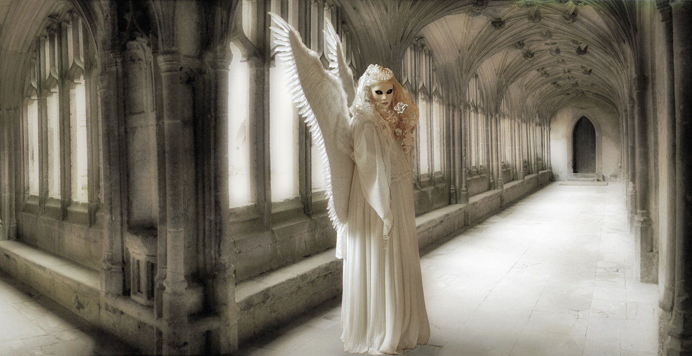 17 ANGEL IN THE CLOISTERS by Pam Sherren