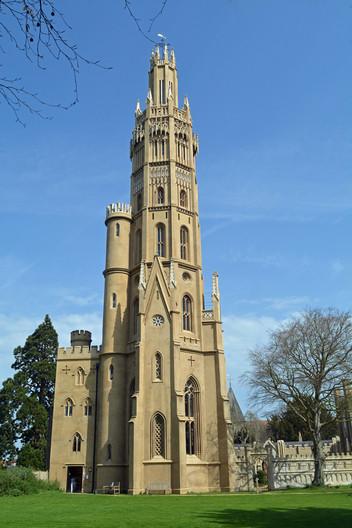 16 HADLOW TOWER by Helen Mossman