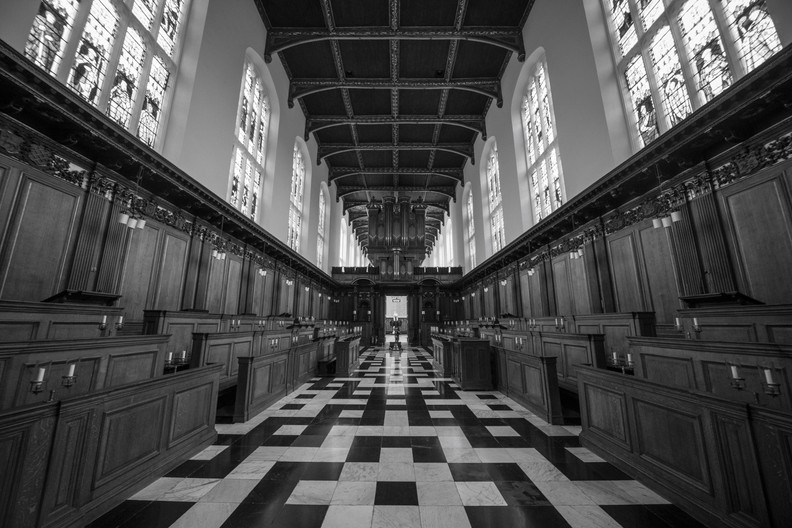 15 TRINITY COLLEGE CHAPEL by Richard Brown