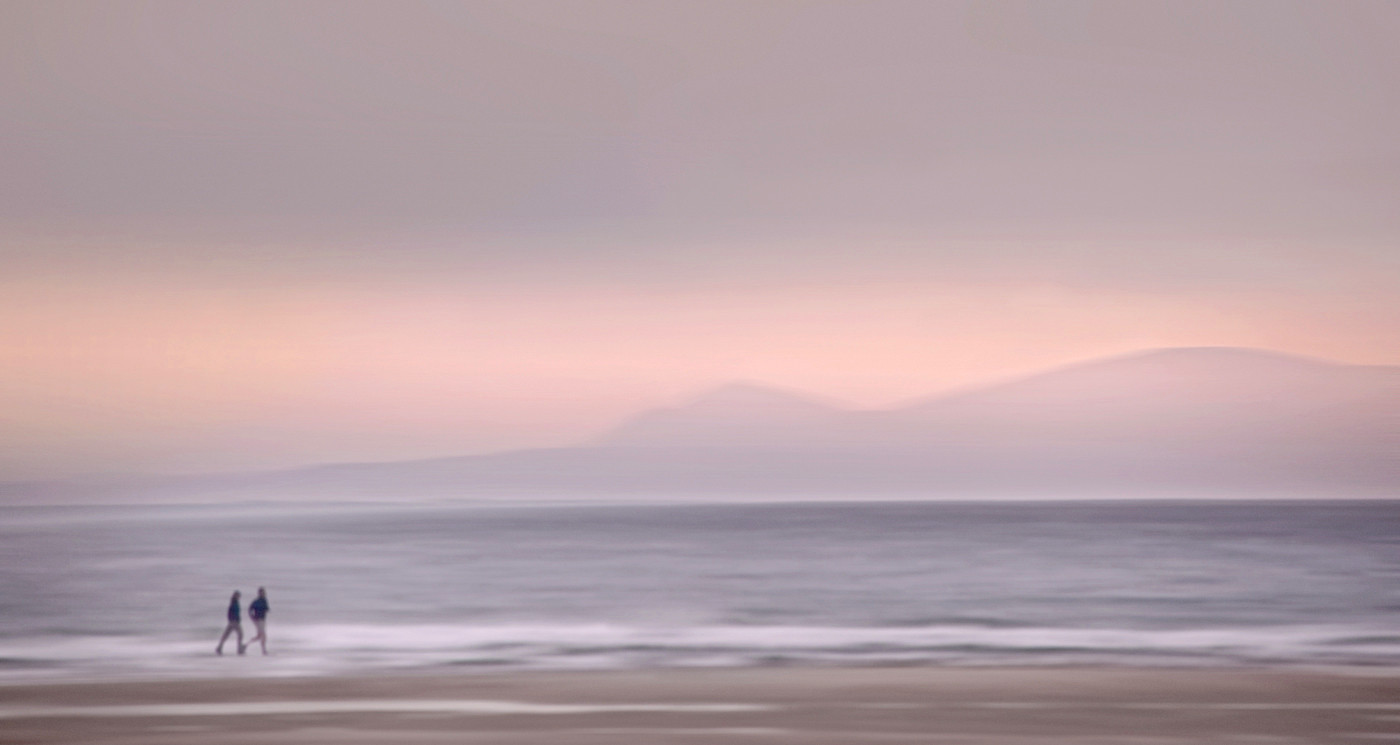17 BLACK ISLE FROM FINDHORN by Peter Tulloch