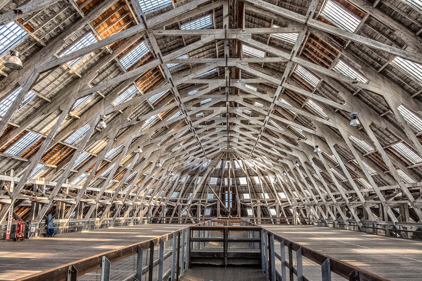 19 No3 COVERED SLIP AT CHATHAM HISTORIC DOCKYARD by Colin Smith