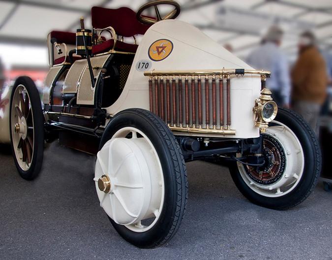 17 FIRST HYBRID CAR by Denys Clarke
