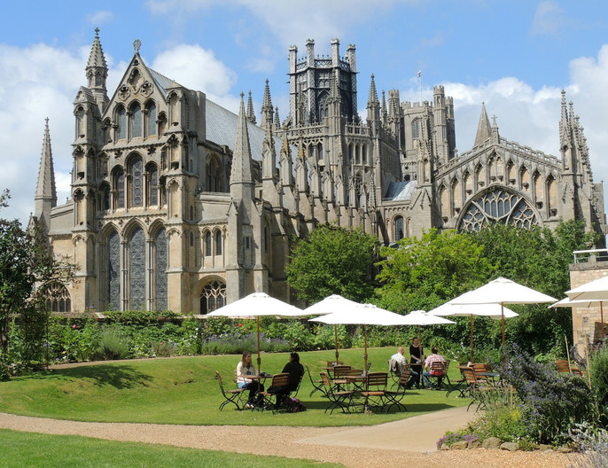 14 TIME FOR TEA AT ELY by Norman Cochrane