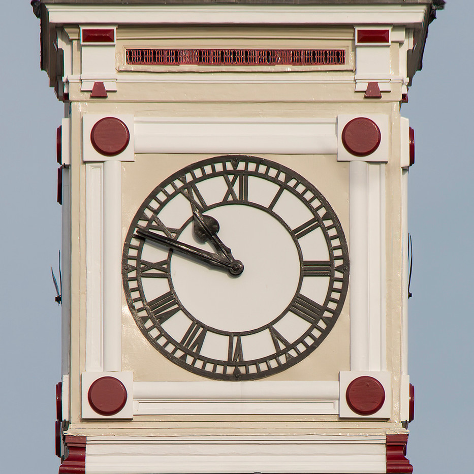 17 PRINT CLOCK TOWER TUNBRIDGE WELLS STATION by Colin Burgess