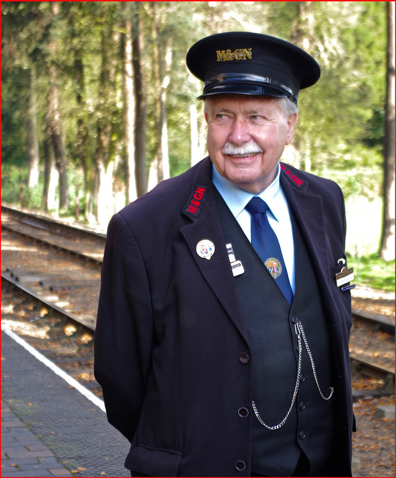 14 THE STATION MASTER by Ron Gaisford