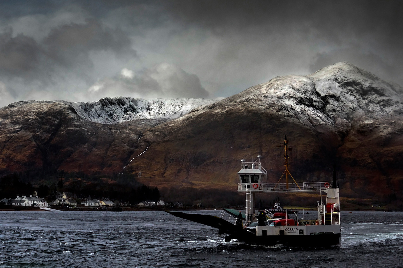 GROUP 1 16 CORRAN FERRY CROSSING by Peter Tulloch