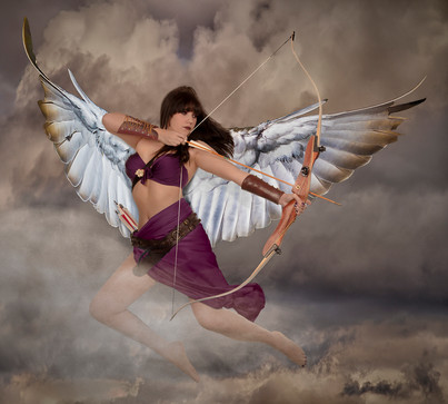 AVENGING ANGEL by Tony Hill