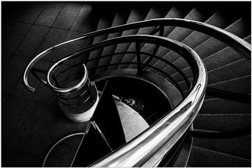 17 (PRINT) STAIRWAY by Steve Oakes