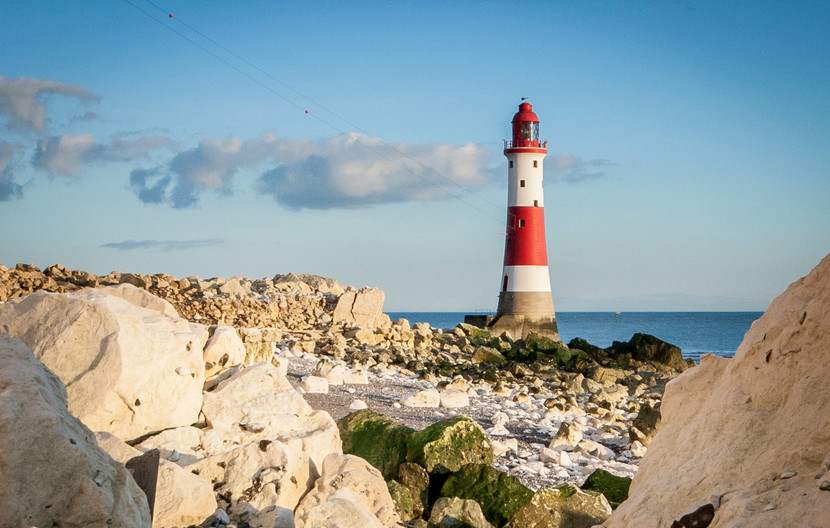 GROUP 1 15 BEACHY HEAD LIGHTHOUSE by Roger Wates