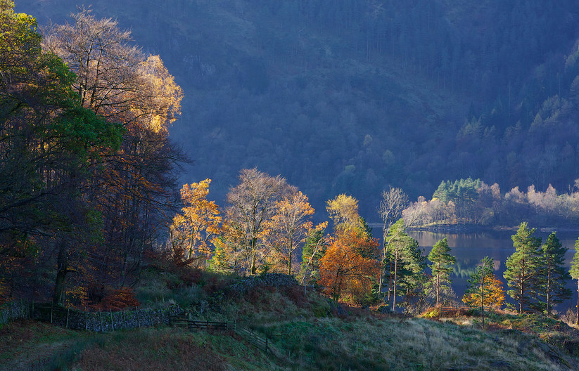 GROUP 1 19 EARLY MORNING LIGHT, LAKE DISTRICT by John Lewis