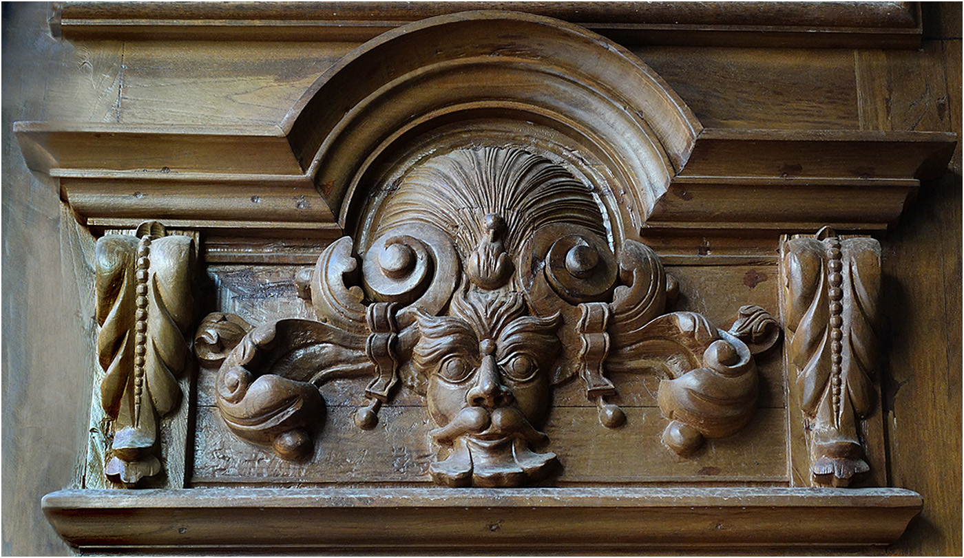 15 CARVED DOOR PANEL SPAIN by Brian Whiston