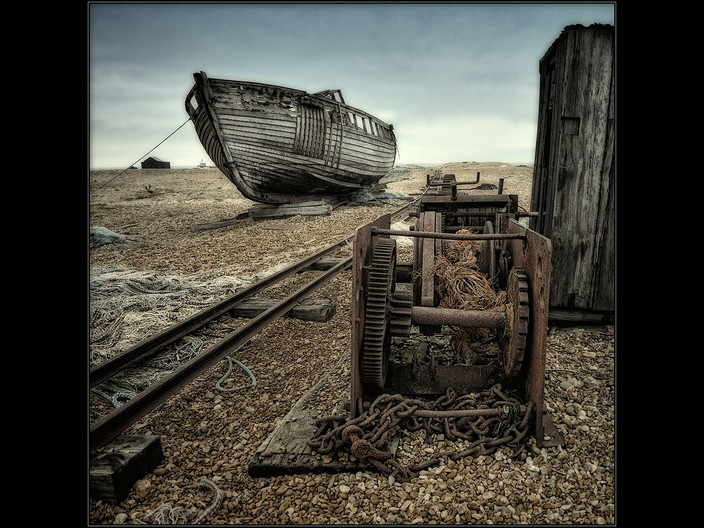 GROUP 1 14 DUNGENESS RELICS by Mick Dudley