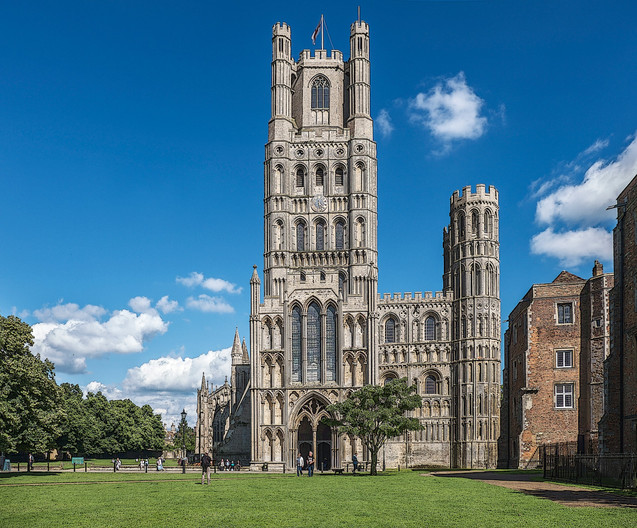 15 ELY CATHEDRAL IMPRESSION by Carole Lewis