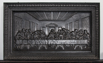 20 PRINT BAS-RELIEF OF THE LAST SUPPER, FITZALAN CHAPEL, ARUNDEL CASTLE by Colin Burgess