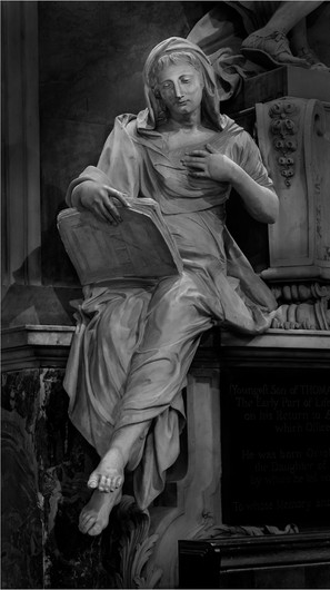 18 FAITH READING A BIBLE ST BARTHOLOMEW'S CHURCH OTFORD by Richard Gandon