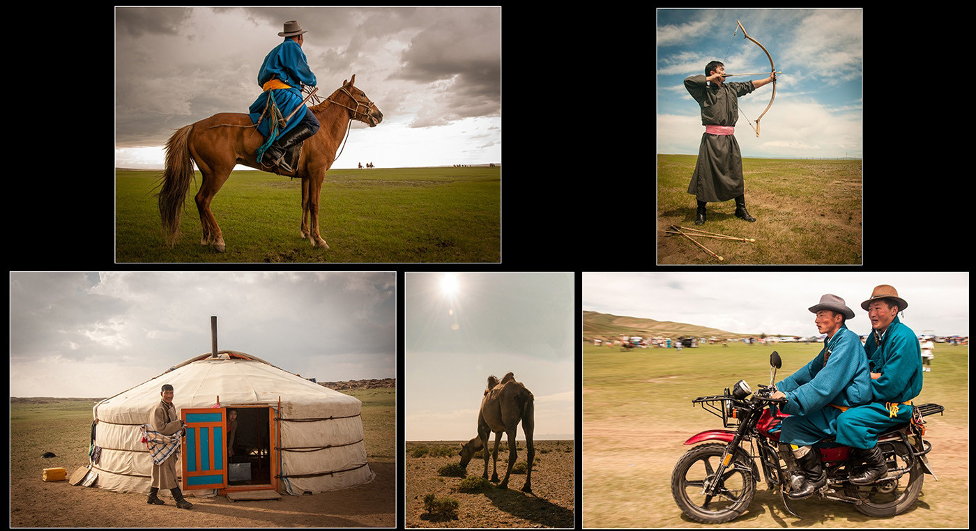 18 MONGOLIA IN SUMMER by Chelin Miller