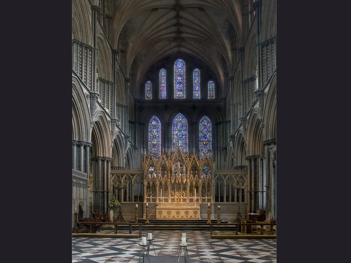 14 ELY HIGH ALTAR by Denys Clarke