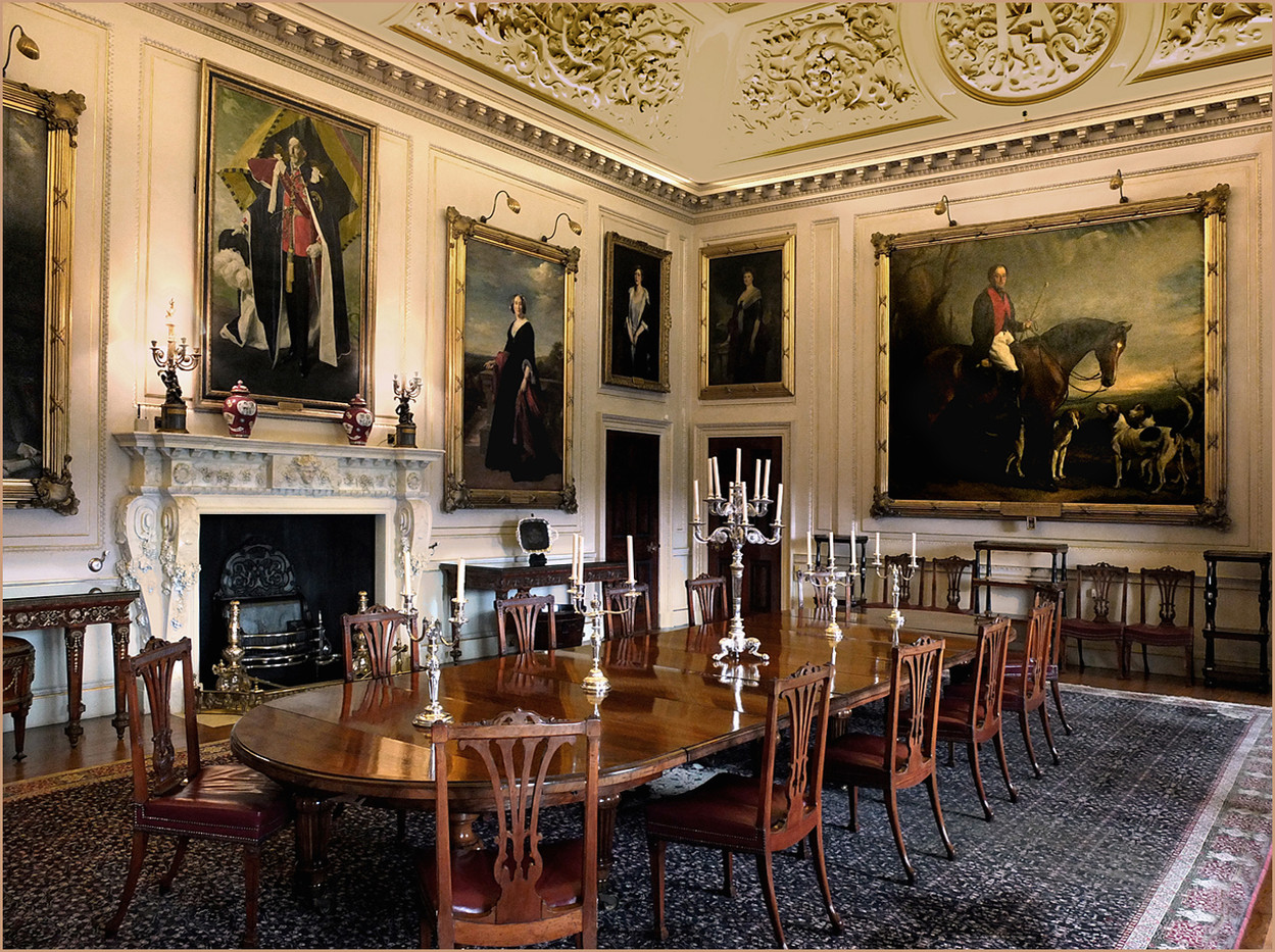 17 THE WEST WING DINING ROOM, SEATON DELAVAL HALL by Keith Evans