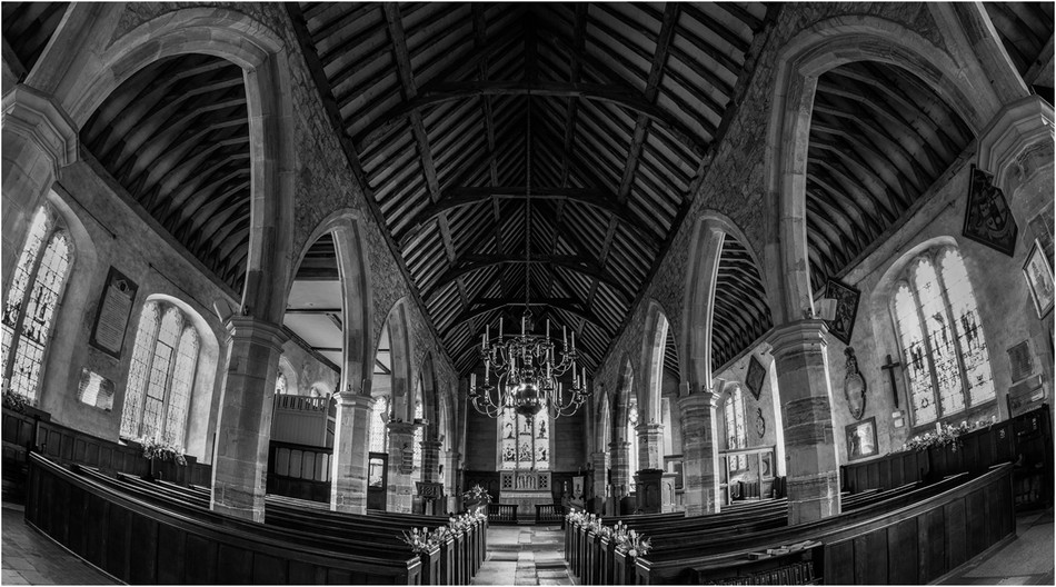 15 ST MARY'S CHURCH CHIDDINGSTONE by Richard Gandon