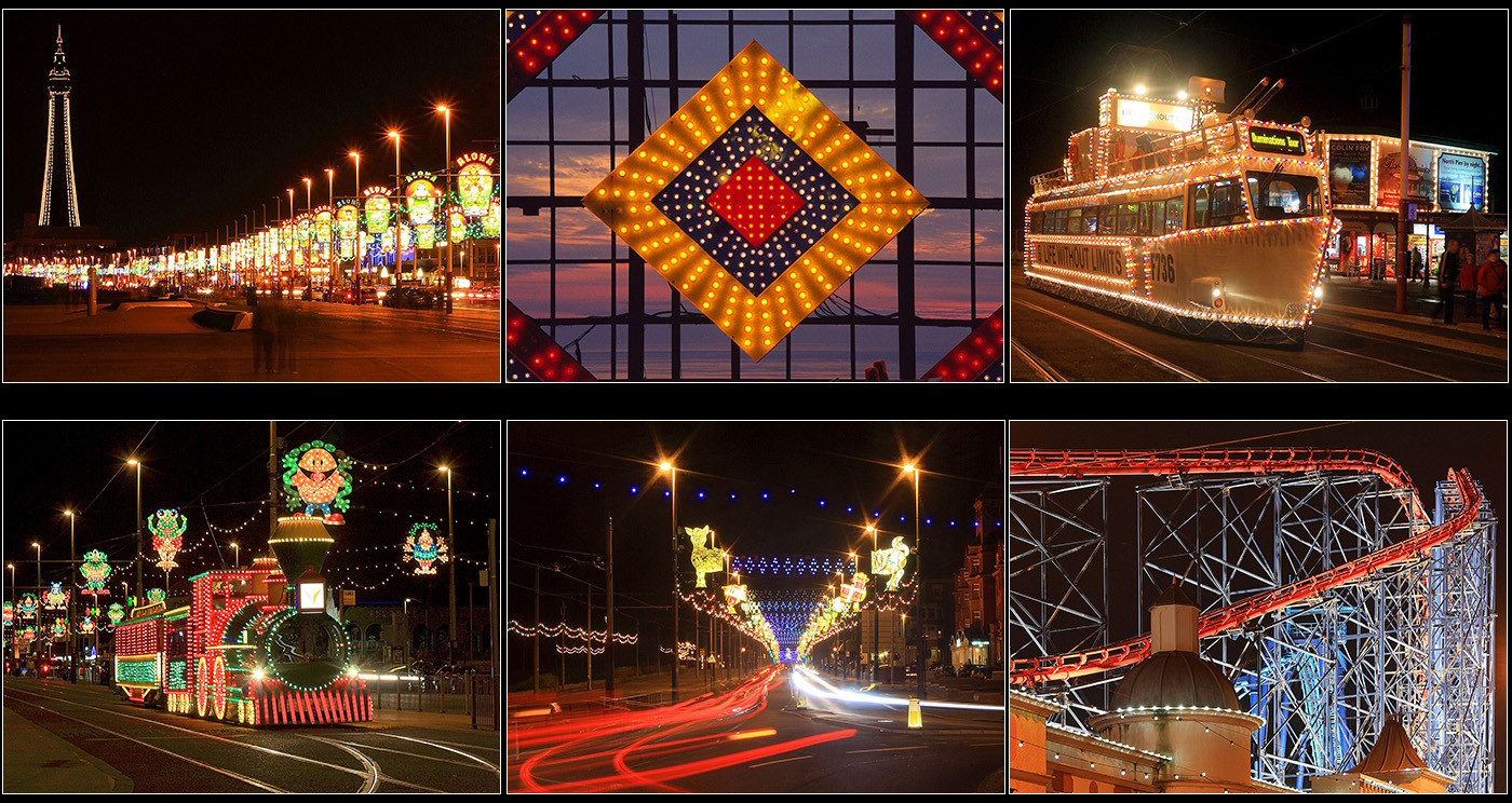 16 BLACKPOOL ILLUMINATIONS by Philip Smithies
