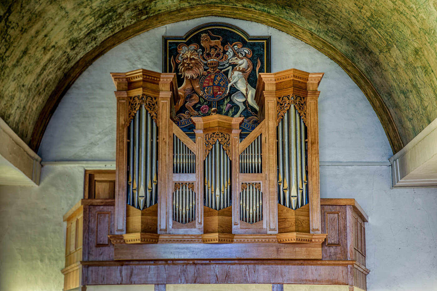 GROUP 1 20 ORGAN PIPES by Roger Wates
