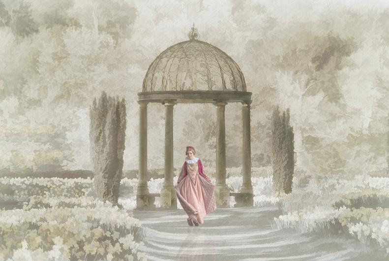 18 BEAUTY IN THE GARDEN by Ann Paine