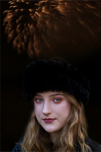 15 FUR HAT AND FIREWORKS by Cathie Agates