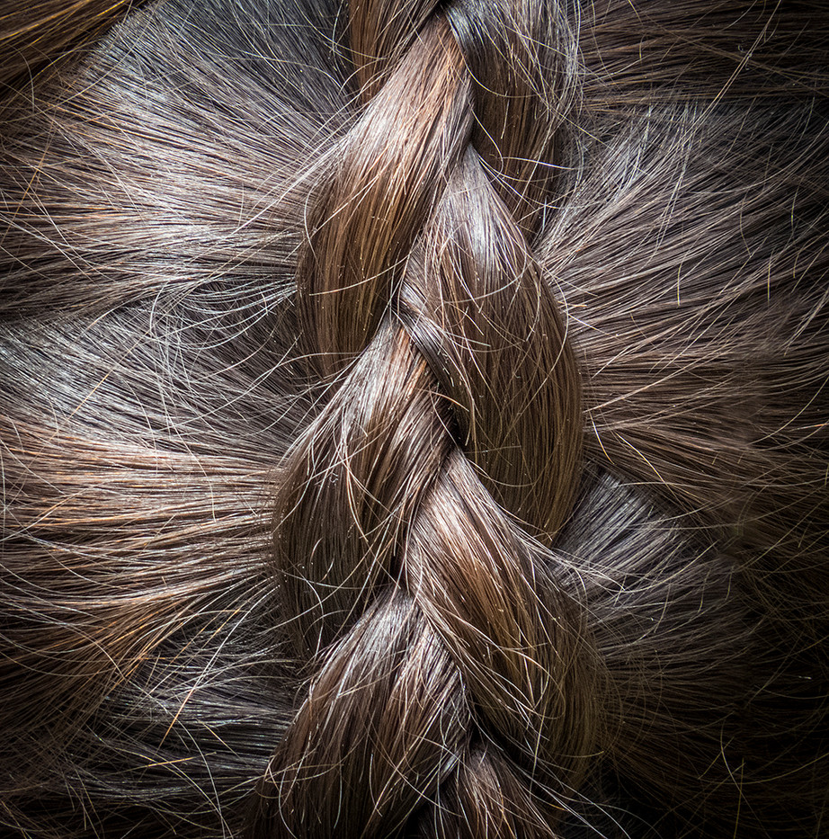 17 PLAITED HAIR by Cathie Agates