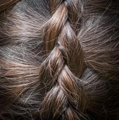 17 PLAITED HAIR by Cathie Agates