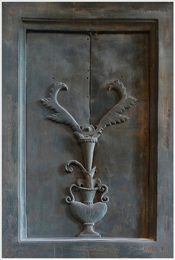 20 DOOR PANEL AYASOFYA. TURKEY by Brian Whiston