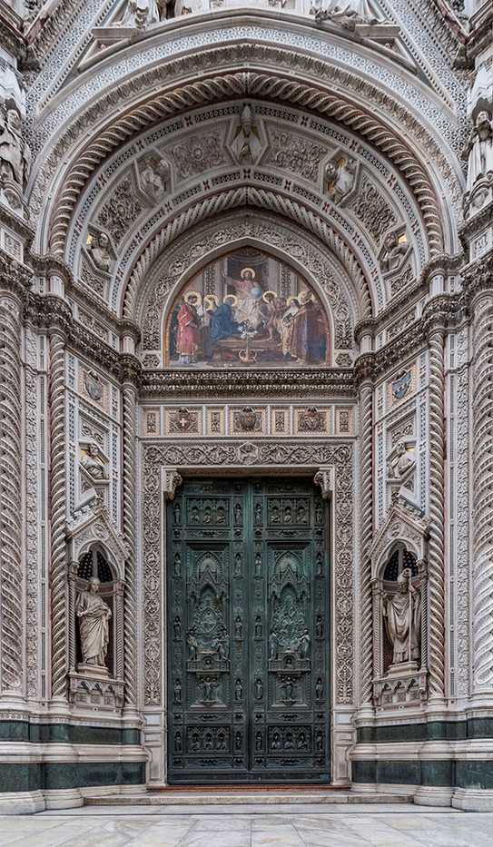 18 MAIN DOOR OF FLORENCE CATHEDRAL by Philip Smithies