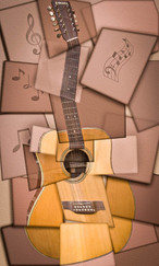 16 IMPRESSIONS OF A GUITAR by Tony Hill