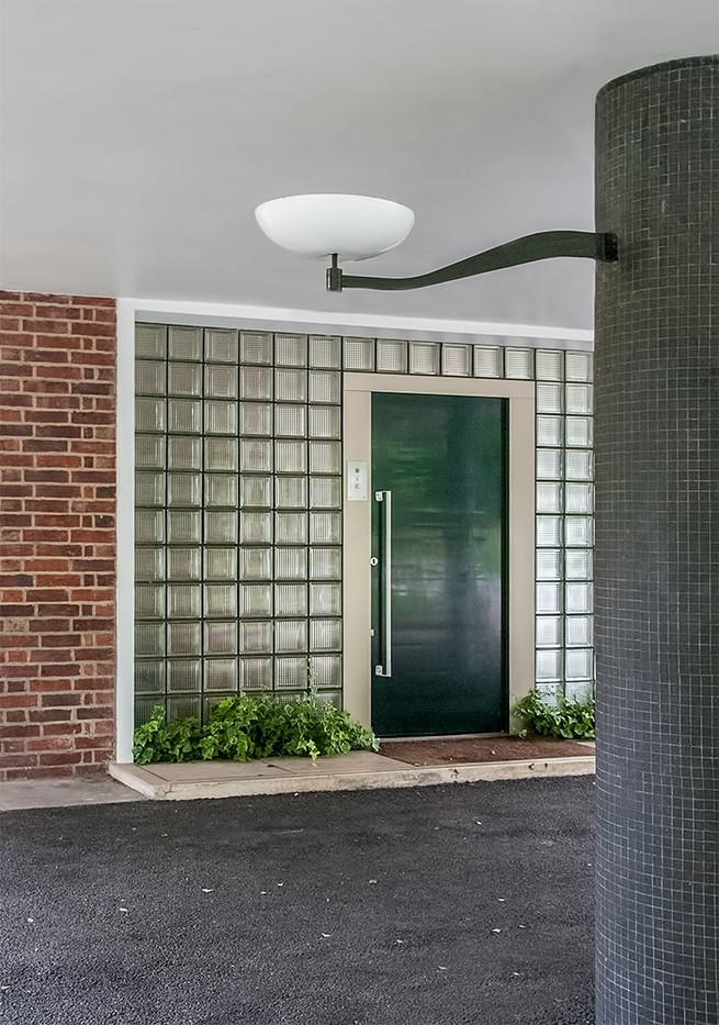 17 HOMEWOOD HOUSE FRONT ENTRANCE by Jenny Clark