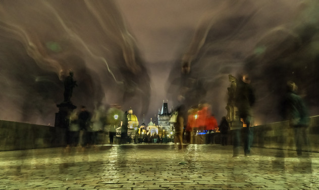 GHOSTS OF PRAGUE by Jeremy Stock