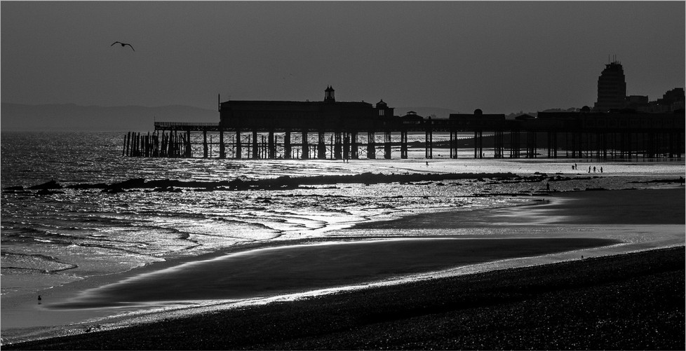 GROUP 1 18 HASTINGS SILHOUETTE by Roger Wates