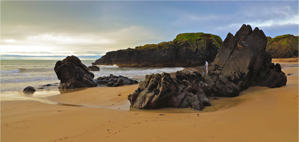 17 GOAT ISLAND BEACH IRELAND by Dave Brooker
