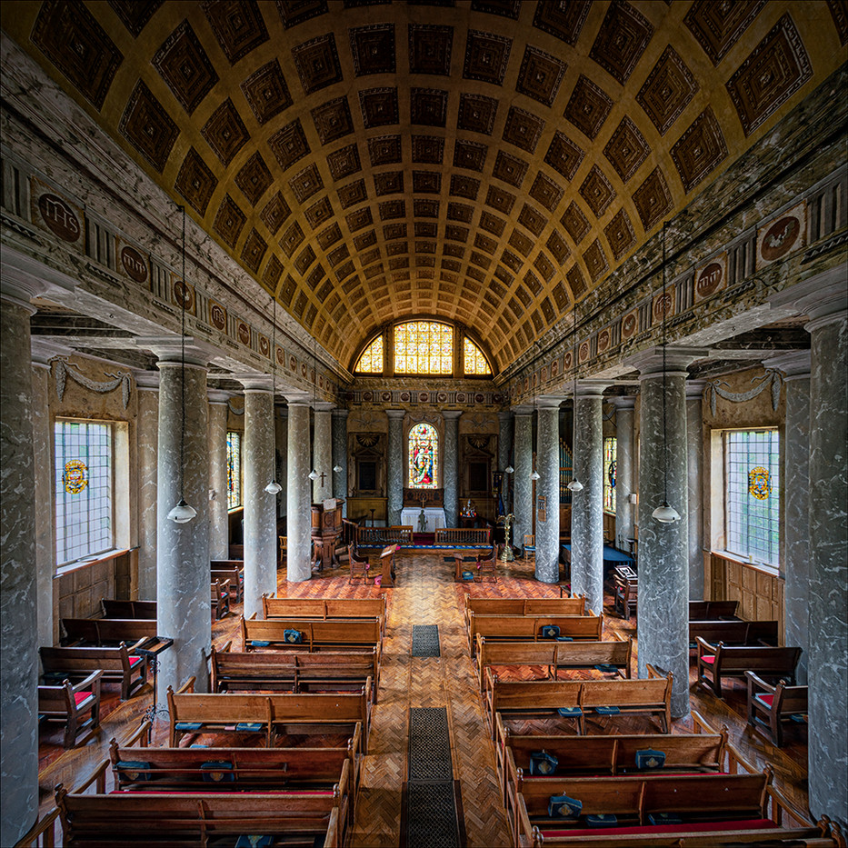 15 PRINT ST LAWRENCE CHURCH - MEREWORTH by Steve Oakes