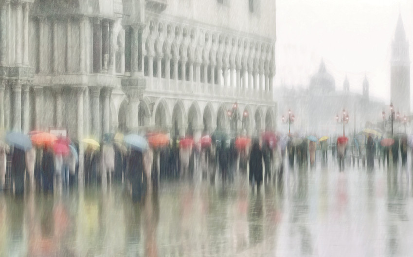 20 A RAINY DAY IN VENICE by Pam Sherren
