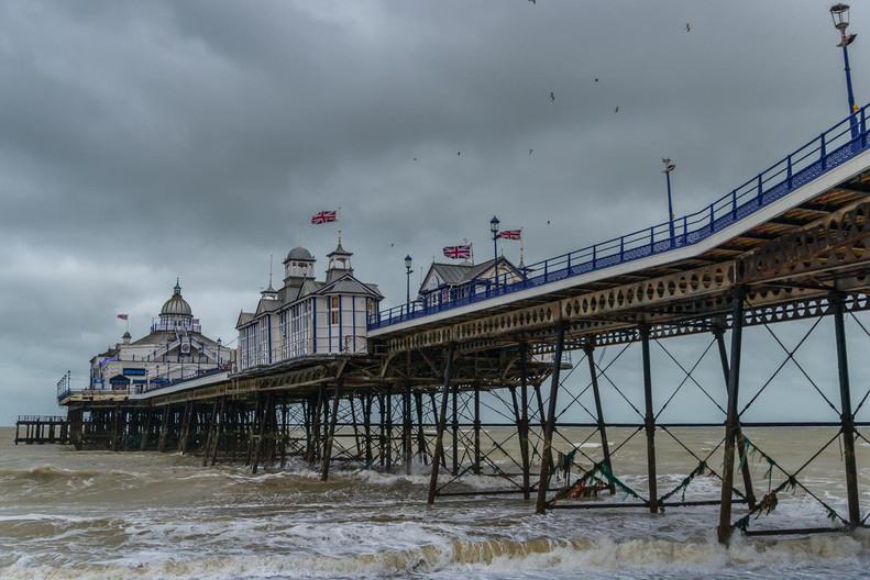 17 EASTBOURNE PIER by Terry Day