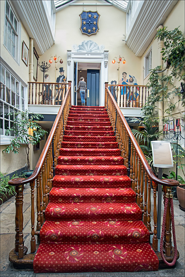 16 SEVEN STARS HOTEL FOYER by Pam Sherren