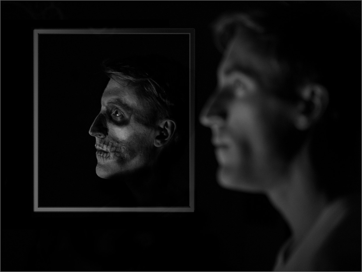 19 HALLOWE'EN REFLECTION by Richard Gandon