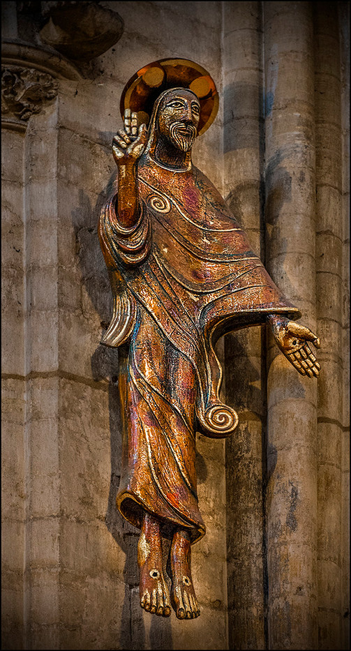 PRINT 19 CHRIST IN GLORY, ELY CATHEDRAL by Mick Dudley