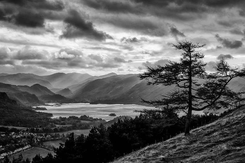 20 DERWENT WATER FROM LATRIGG by Steve Oakes