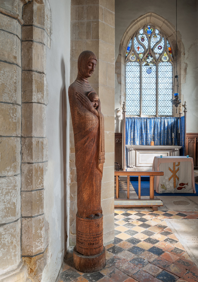 16 ST GEORGE'S CHURCH BREDE THE LADY CHAPEL by Chris  Rigby