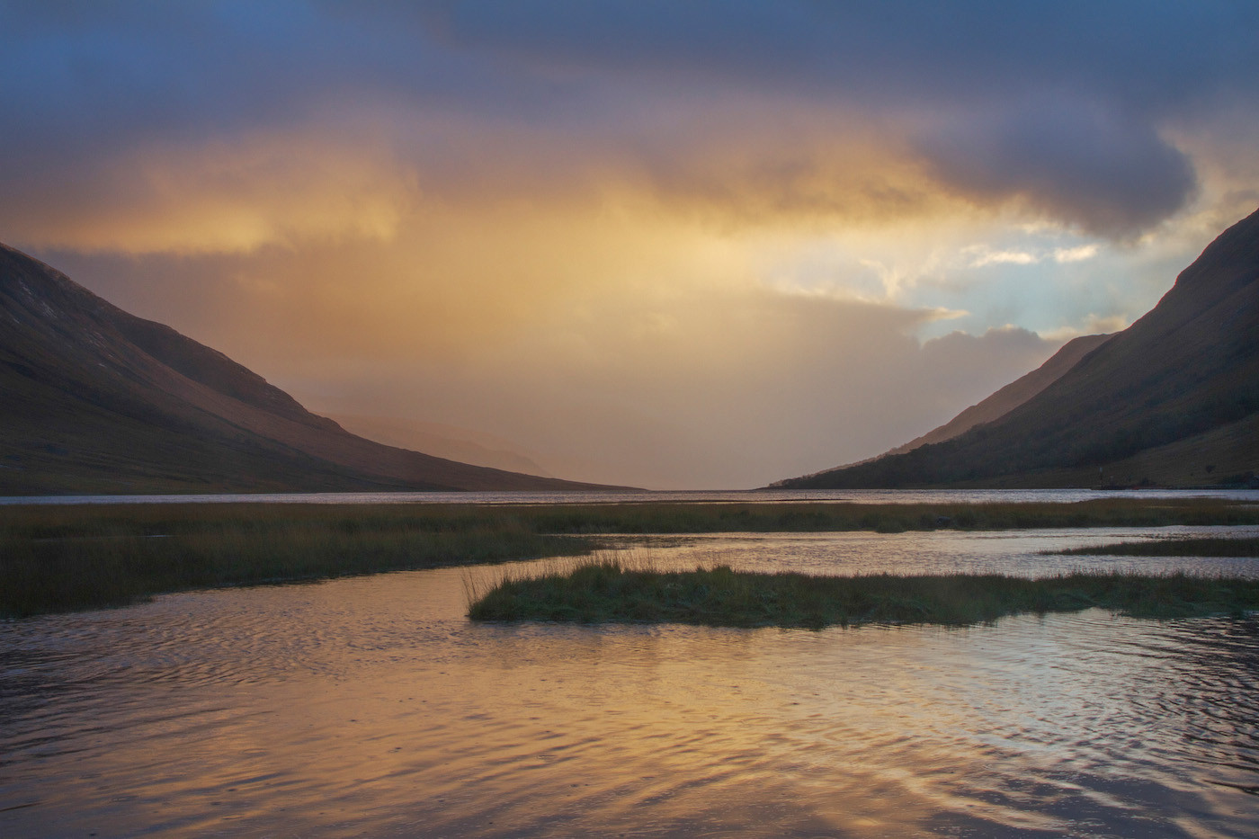 GROUP 1 17 AFTERNOON STORM, LOCH ETIVE by Carole Lewis