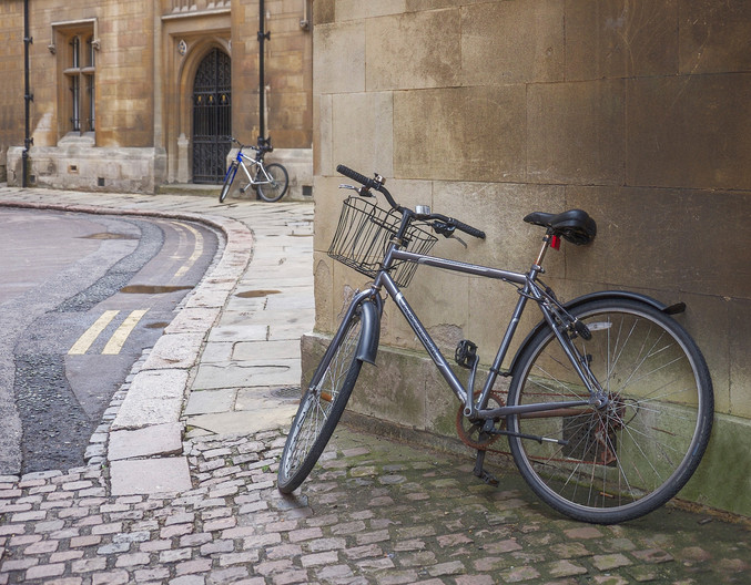19 (2nd=) TWO BIKES, CAMBRIDGE by Carole Lewis