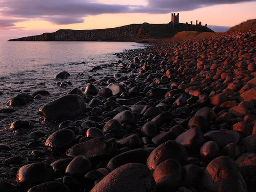 DAWN AT DUNSTANBURGH by Philip Smithies