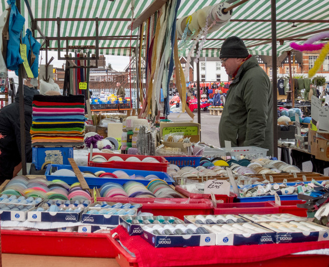 GROUP 1 16 MARKET STALL by Roger Wates