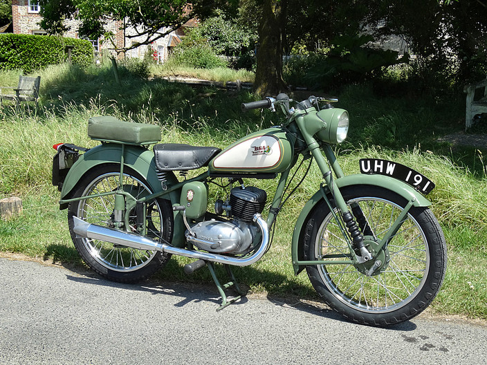 1955 BSA BANTAM 125CC by Brian Whiston